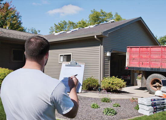 Roofing Inspection O'Fallon IL